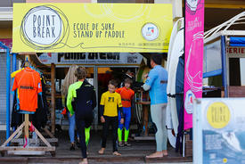 Ecole de surf Biscarosse POINT BREAK 2015